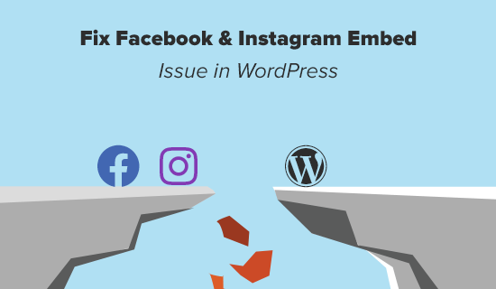 How to Fix the Facebook and Instagram oEmbed Issue in WordPress