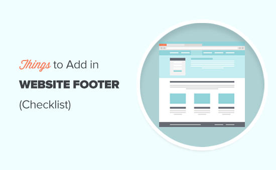Which things to add to the footer of your WordPress website